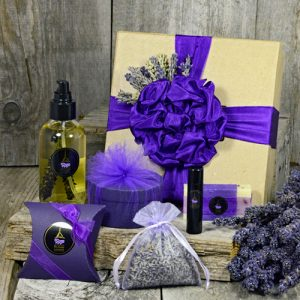 Lavender Indulgence Collection from Pelindaba Lavender