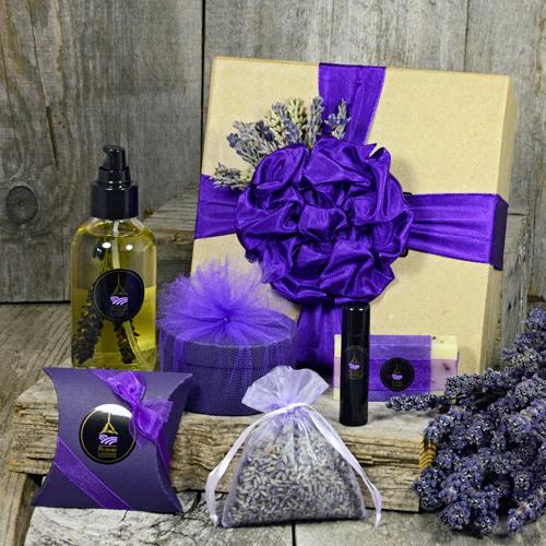 Lavender Indulgence Collection from Pelindaba Lavender