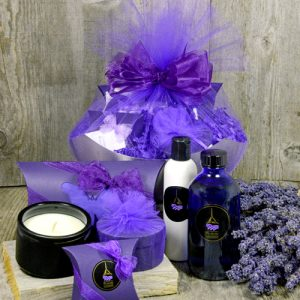 Lavender Elegant Spa Collection from Pelindaba Lavender