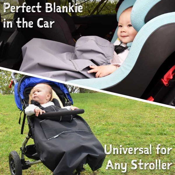 Cozy & Dry Baby Cover - stroller, car seat, carrier