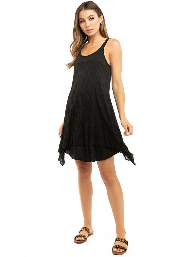 HardTail Vixen Dress Black front