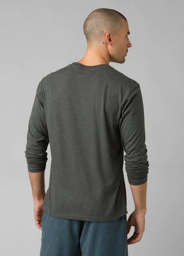 prAna Long Sleeve T-Shirt - Charcoal