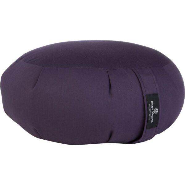 Hugger Mugger Zafu Meditation Cushion Plum