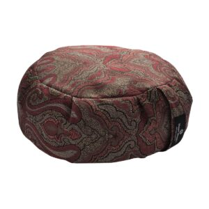 Hugger Mugger Zafu Meditation Cushion Vintage Currant