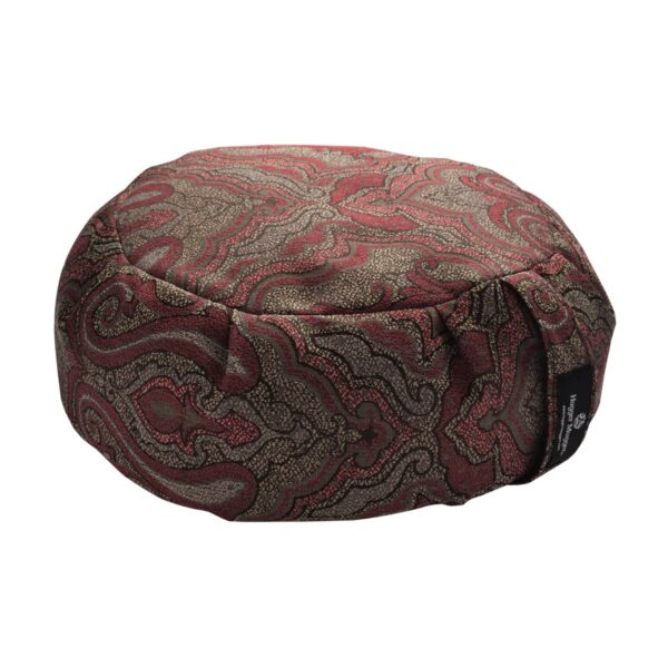 Hugger Mugger Zafu Meditation Cushion Vintage Currant