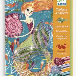 Dejeco Glitter Boards Mermaid