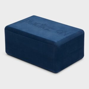 Manduka Recycled Foam Yoga Block, Midnight