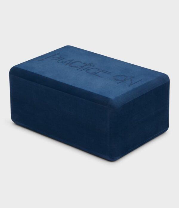 Manduka Recycled Foam Yoga Block, Midnight
