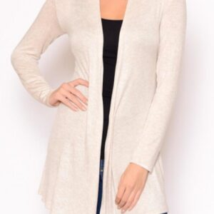 photo of OATMEAL Lightweight Cardigan, Chris and Carol, Shop Ashland